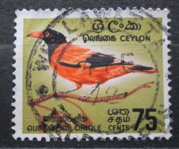 Poštovní známka Cejlon, Srí Lanka 1966 Oriolus xanthornus ceylonensis Mi# 343