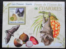 Poštovní známka Komory 2009 Netopýøi Mi# 2470 Kat 15€