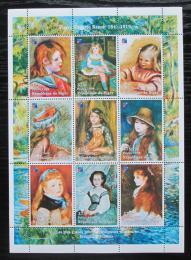 Poštovní známky Niger 1998 umìní, Pierre Auguste Renoir Mi# N/N