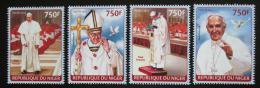 Poštovní známky Niger 2014 Papež František Mi# 2722-25 Kat 12€