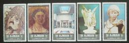 Poštovní známky Adžmán 1972 Antické umìní Mi# 2059-63
