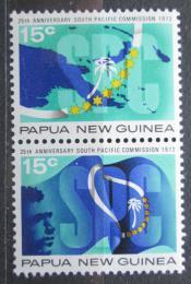 Poštovní známky Papua Nová Guinea 1972 Jihopacifická komise Mi# 217-18