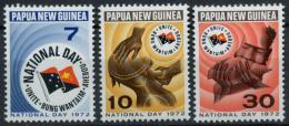Poštovní známky Papua Nová Guinea 1972 Národní den Mi# 227-29