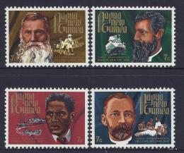 Poštovní známky Papua Nová Guinea 1972 Misionáøi Mi# 230-33