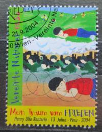 Poštovní známka OSN Vídeò 2004 Dìtská kresba Mi# 428