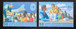 Poštovní známky OSN Vídeò 1998 Pomoc OSN Mi# 266-67