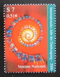 Poštovní známka OSN Vídeò 2000 Mezinárodní rok díkuvzdání Mi# 302