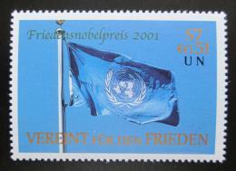 Poštovní známka OSN Vídeò 2001 Vlajka OSN Mi# 350