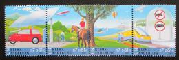Poštovní známky OSN Vídeò 2001 Klimatické zmìny Mi# 346-49 Kat 6€