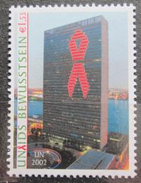 Poštovní známka OSN Vídeò 2002 Budova OSN v New Yorku Mi# 379