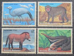 Poštovní známky OSN Vídeò 1997 Fauna Mi# 222-25