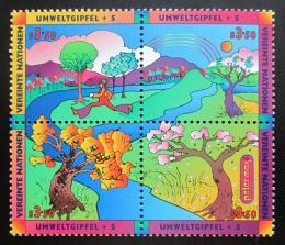 Poštovní známky OSN Vídeò 1997 Životní prostøedí Mi# 226-29