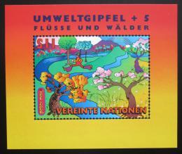 Poštovní známka OSN Vídeò 1997 Životní prostøedí Mi# Block 8