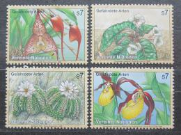 Poštovní známky OSN Vídeò 1996 Flóra Mi# 205-08
