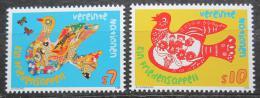 Poštovní známky OSN Vídeò 1996 Mír Mi# 216-17