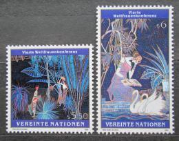 Poštovní známky OSN Vídeò 1995 Umìní, Ting Shao Kuang Mi# 188-89