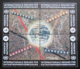 Poštovní známky OSN Vídeò 1994 Prevence pøed katastrofami Mi# 170-73 Kat 5€