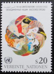 Poštovní známka OSN Vídeò 1991 Lidé Mi# 116