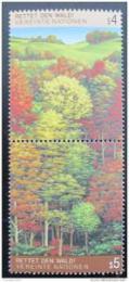 Poštovní známky OSN Vídeò 1988 Ochrana lesa Mi# 81-82 Kat 6€