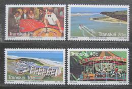 Poštovní známky Transkei, JAR 1983 Turistické zajímavosti Mi# 120-23