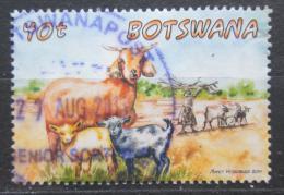 Poštovní známka Botswana 2014 Kozy Mi# 993