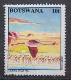 Poštovní známka Botswana 1994 Plameòák malý Mi# 570
