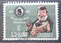 Poštovní známka Botswana 1970 Postava románu Ch. Dickense Mi# 62
