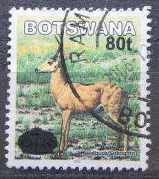 Poštovní známka Botswana 2006 Bahnivec jižní pøetisk Mi# 825