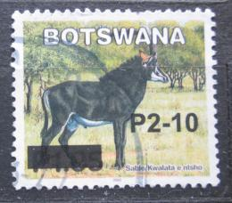 Poštovní známka Botswana 2006 Antilopa vraná pøetisk Mi# 826