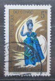 Poštovní známka Kongo 1967 Taneènice Mi# 128