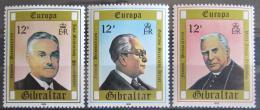 Poštovní známky Gibraltar 1980 Evropa CEPT Mi# 405-07