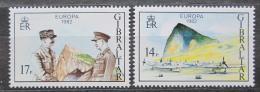 Poštovní známky Gibraltar 1982 Evropa CEPT, historické události Mi# 451-52