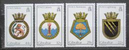 Poštovní známky Gibraltar 1986 Lodní heraldika Mi# 513-16 Kat 8.50€
