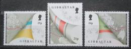 Poštovní známky Gibraltar 1992 Závod regat Mi# 642-44 Kat 4€