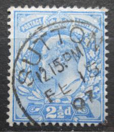 Poštovní známka Velká Británie 1902 Král Edward VII. Mi# 107 A