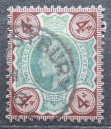 Poštovní známka Velká Británie 1902 Král Edward VII. Mi# 109 A Kat 12€