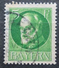 Poštovní známka Bavorsko 1914 Král Ludvík III. Mi# 95 I