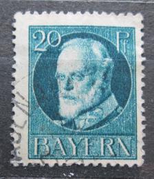 Poštovní známka Bavorsko 1916 Král Ludvík III. Mi# 97 II A