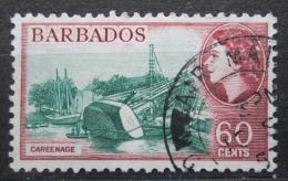 Poštovní známka Barbados 1956 Naklánìní lodi Mi# 213 Kat 7€