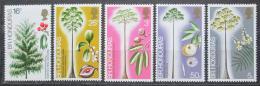 Poštovní známky Britský Honduras, Belize 1972 Palmy Mi# 286-90