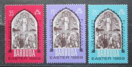 Poštovní známky Barbuda 1969 Velikonoce, umìní Mi# 32-34