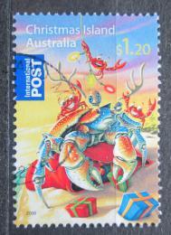 Poštovní známka Vánoèní ostrov 2008 Vánoce Mi# 635