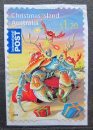 Poštovní známka Vánoèní ostrov 2008 Vánoce Mi# 637