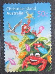 Poštovní známka Vánoèní ostrov 2008 Vánoce Mi# 636