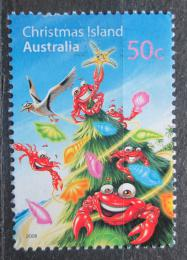 Poštovní známka Vánoèní ostrov 2008 Vánoce Mi# 634