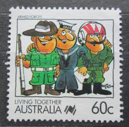 Poštovní známka Austrálie 1988 Ozbrojené síly Mi# 1100