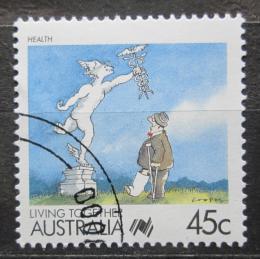 Poštovní známka Austrálie 1988 Zdraví Mi# 1086