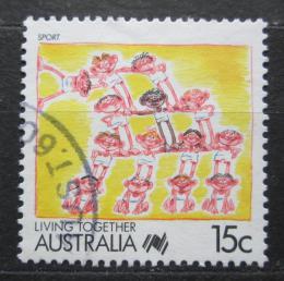 Poštovní známka Austrálie 1988 Sport Mi# 1082