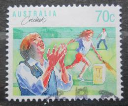 Poštovní známka Austrálie 1989 Kriket Mi# 1144