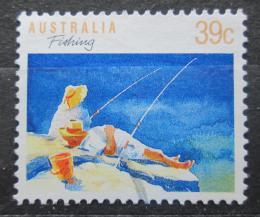 Poštovní známka Austrálie 1989 Rybolov Mi# 1142